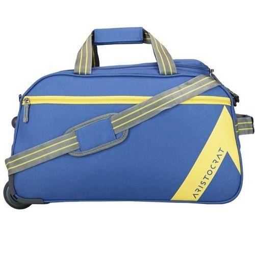 BLUE Duffel Strolley Bag